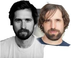 The director Benjamin Dickinson always reminds me of Duncan Trussell :  duncantrussell