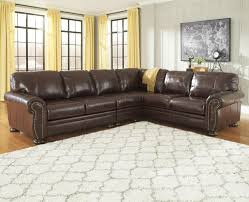 3 piece leather sectional. Delighful Leather Signature Design By Ashley Francesco 3Piece Sectional  Item Number  504045546 In 3 Piece Leather X