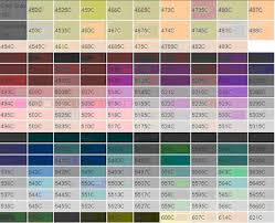 A pantone color chart shows a review of standard colors according to the pantone color reproduction system. Free Pantone Tpx Download