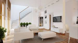 Living Room Tv Set Interior Design Modern Living Room With A Balcony And Tv Set Interior Design Ideas