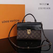 lv louis vuitton monogram one handle bag m43125 black epi leather handbag 3a copy