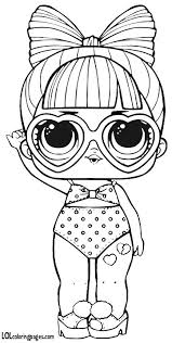 Lol Doll Coloring Pages Series 3