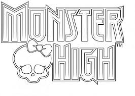 Coloring Pages Printable Monster High Modest Decoration Monster High