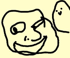 potato face troll. Interesting Potato Potato And Troll Face Hybird With Face