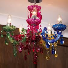 multi colour marie therese chandelier