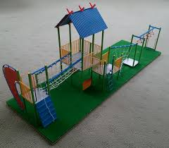Uncategorized How To Make A Playground architecture urban planning and  model making a proposed playground mostly