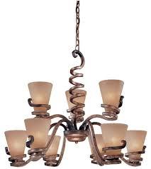 minka lavery tofino 9 light chandelier in tofino bronze 1768 211 photo