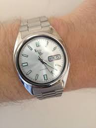 "men s seiko 5 automatic watch snxs73 watch shop comâ""¢ the seiko 5 automatic is probably the standout seiko watch of the last 50 years millions around the world it has set a standard for affordable"