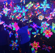 Cool Black Light Designs How To Create Glowing Black Light Art Teaching Guide For