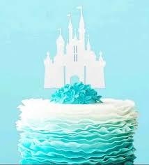 Wedding Castle Cake Topper Zeppyio