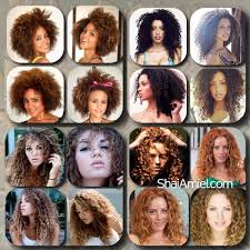 Curl Type Chart Devacurl Devacurl Curly Girls By Shai Amiel Www Shaiamiel Com Www