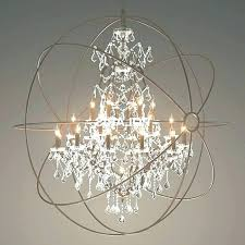 large orb chandelier frightening large orb chandelier with crystals picture inspirations surprising large orb chandelier with large orb chandelier