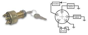 ways to wire a boat ignition switch 4 wire key switch wiring 4 Wire Key Switch Diagram #38