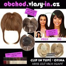 Akce Tupé Ofina Pro řídké Vlasy A Lysiny Mnoho Barev A Melírů
