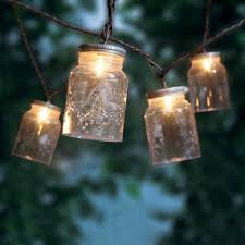Decorative Lights Walmart Mainstays Mason Jar Mini String Lights 10 Count Walmart Com