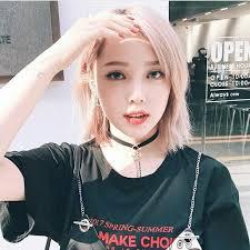 korean asian asian woman hair makeup pony makeup hair reference ulzzang shorter hair pretty s
