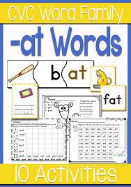 Activities Word At Word Family Cvc Activities Life Over Cs
