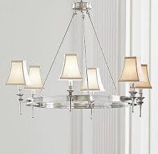 riley antique silver chandelier