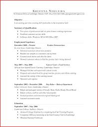 Unique Bakery Resume Sample Npfg Online
