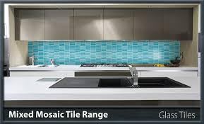 mixed mosaic glass tile range