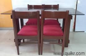 dining table for sale in navi mumbai. **quikr certified excellent condition wooden dining table with 4 chairs for sale* sale in navi mumbai l