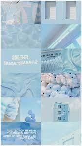 blue aesthetic desktop wallpaper ...