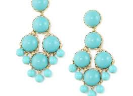 dabney large chandelier earrings turquoise in blue turquoise lyst