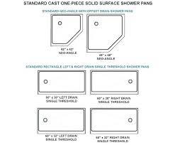 standard shower size nz door sizes on modern home design styles interior ideas with