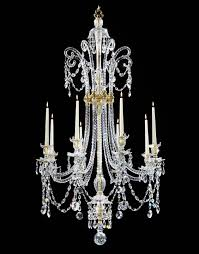 a george iii cut glass eight light chandelier by moses lafount no 426