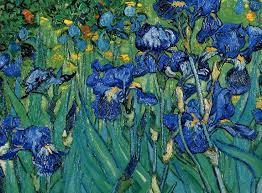 vincent van gogh iris detail de vincent van gogh artists art might just art