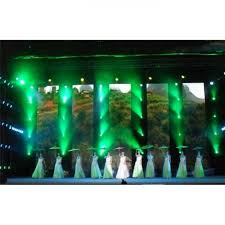 flexible outdoor led curtains high brightness mesh screen for stage show background images