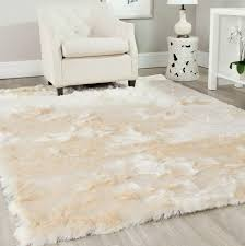 fluffy white area rug. Delighful Area Incredible Fluffy Area Rug Rugs Ideas With Regard To White Plush Regarding  Large Remodel 9 A