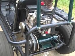 gokart new torque converter and throttle hookup
