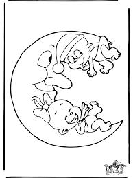 Baby 3 Kleurplaten Baby