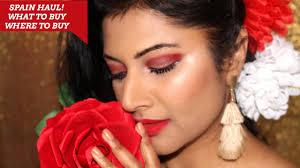spain ping haul 2017 top makeup and fashion remendations shweta vj lifestyle