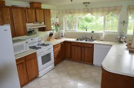 painted oak kitchen cabinets before and after. Old Kitchen 2 Painted Oak Cabinets Before And After