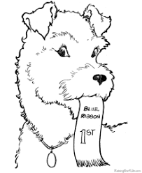 Small Picture Dog Coloring Pages Free and Printable