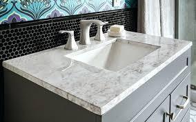 white granite bathroom countertops a gray and white marble bath vanity top choosing a bathroom vanity