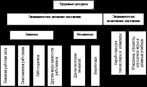 Дипломная работа Организация использования трудовых ресурсов на  Состав трудовых ресурсов