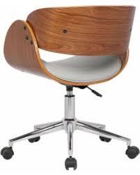 mid century office chair. Carson Carrington Gavle White/ Wood Mid-century Office Chair (Brown) Mid Century I