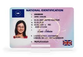 National Id Type Card 1