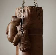 Restoring Antique Leather Vintage Leather Punching Bag So Thats Cool