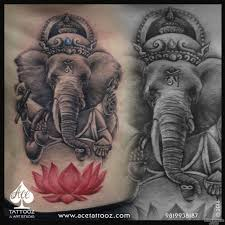 Ganesha Tattoo Designs Ideas Meanings Images