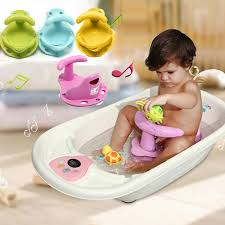 4 colors baby bath tub ring seat infant children shower toddler kids anti slip security safety