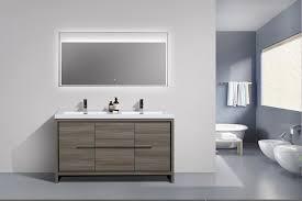 grey double sink vanity. aquamoon granada 60 maple grey double sink bathroom vanity t