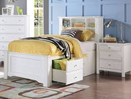 white bookcase storage bed. Wonderful Storage In White Bookcase Storage Bed A