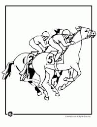 Small Picture Kentucky Derby Coloring Pages Animal Jr