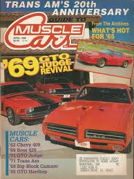 Guide To Muscle Cars Magazines Auto Guide To Muscle Cars