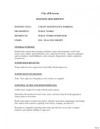 Maintenance Job Resume Objective General Maintenance Worker Resume Objective Piqqus Com