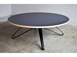 monarch round coffee table
